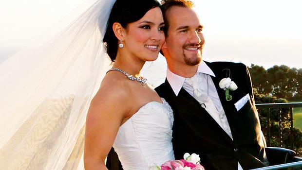愛情的挫折沒有擊倒他們,力克(右)與佳苗於2012 年2 月12 日結婚。