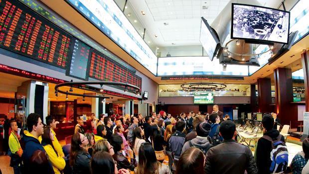 巴西經濟基本面沒「爛到根」,是新興市場中股市反彈最出色的國家。(圖為巴西證券交易所)