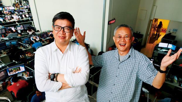 大舉挖角國際人才,是黎智英打造壹動畫的第一步,CEO 吳達光(左)、莊士傑(右)就是他找來的兩位大將。