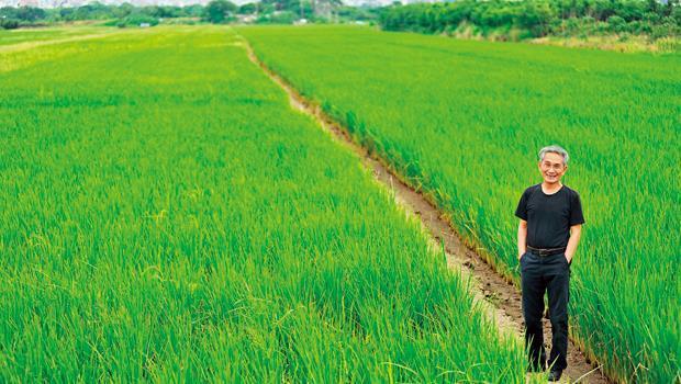 林懷民:「稻田的風是生命的呼喚、時光的流動,讓人願意放下一切。」