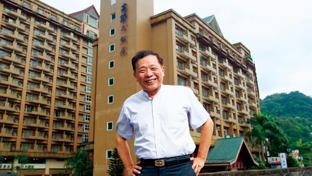 富野集團董事長劉清郎擺平了複雜的產權問題,才得以稱霸東部旅館業。