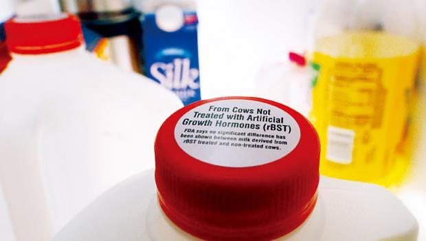 民調顯示,美國九成消費者盼有選購非人工生長激素奶品的權利。