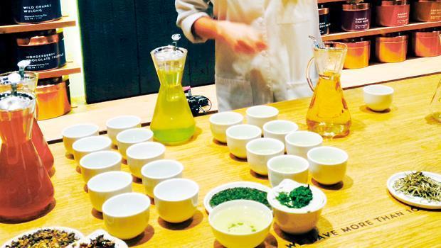 星巴克茶吧刻意營造禪意,要用帶有異國風情的茶飲攻占美國市場。