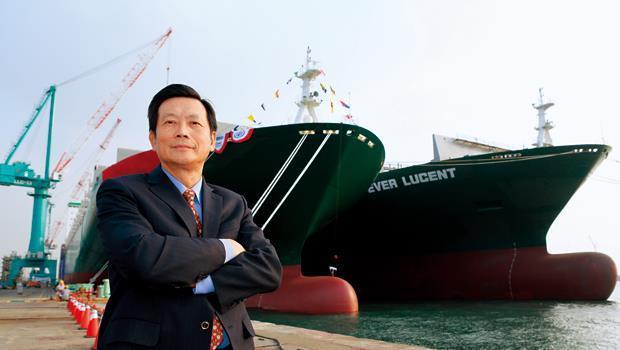 台船董事長賴杉桂說,目前船價已從谷底翻揚,不過仍比2008年金融海嘯前的高點低了35%。