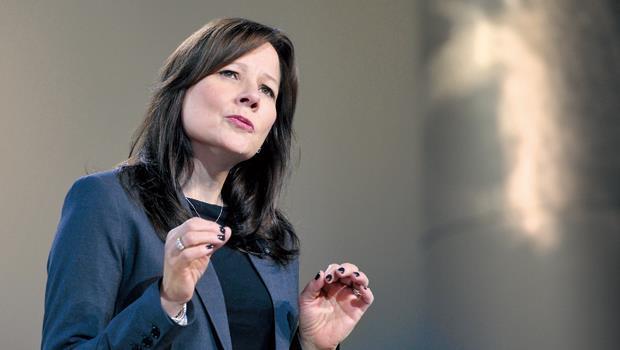 通用汽車全球產品開發副總裁 瑪麗.巴拉