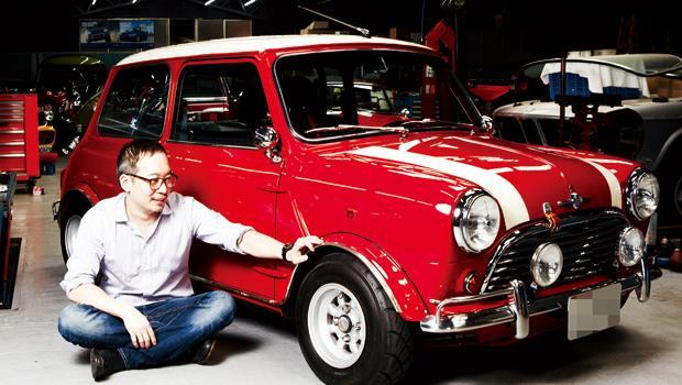 洪裕鈞與Mini Cooper MK VI。