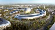 單靠風力和太陽能發電的城市終於將在哈薩克成真了!