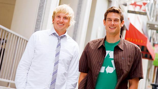 美則創辦人 亞當.勞瑞(Adam Lowry,圖右)、艾瑞克.萊恩(Eric Ryan,圖左)