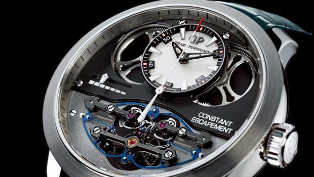 芝柏腕表獲獎的重要原因,在於它創造了新的擒縱系統概念。