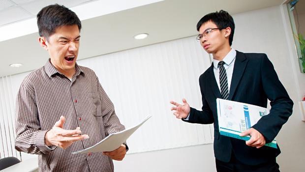 業務員整天趴趴走,最常聽到客戶抱怨,這時該怎麼回答才不失禮?