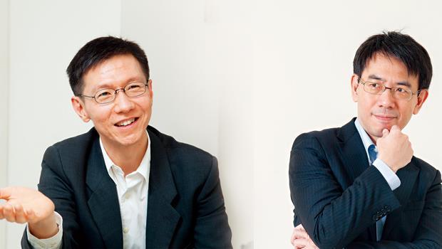 王文華(左)、劉寶傑(右)