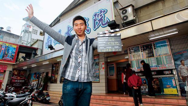 成功讓老戲院起死回生,今年五月,蔡杰峰(圖)將在南投鹿谷開第二間咖啡廳,把戲院的名聲帶出去。