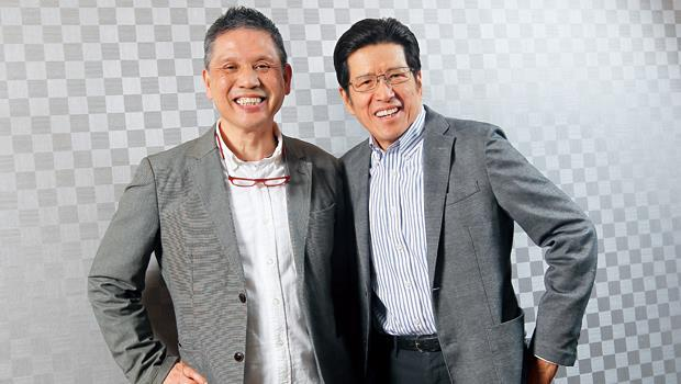 嚴長壽(右)、蘇國垚(左)