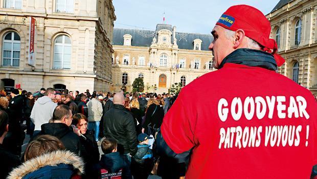 固特異員工激進的談判手段,加強了「很難在法國做生意」的印象。