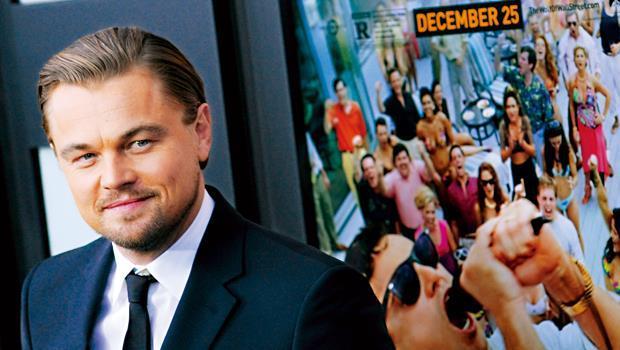 《華爾街之狼》男主角李奧納多參加首映會時,遭奧斯卡學院委員噱「丟臉噁心」。