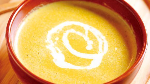 根據「愛料理」食譜網站的統計,三萬多道食譜中,去年度最多人搜尋的正是南瓜濃湯。