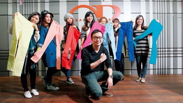 最大網路女裝品牌「OB嚴選」團隊。