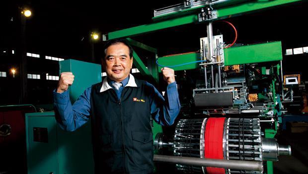有為工業董事長陳珀波:沒有我不會做的輪胎設備,我有百分百信心做出來!