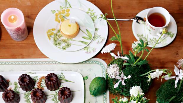 歐式的下午茶,總給人浪漫的感受。
