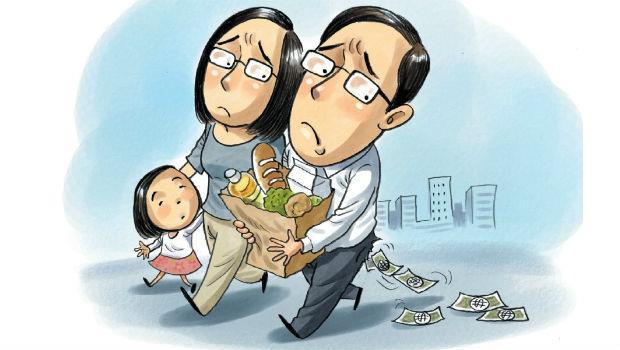 夾薪族的悲哀:花錢栽培子女,就養不起父母