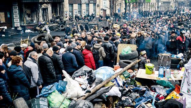 烏克蘭國內的紛亂不斷,實歸因於政府干涉經濟所致。