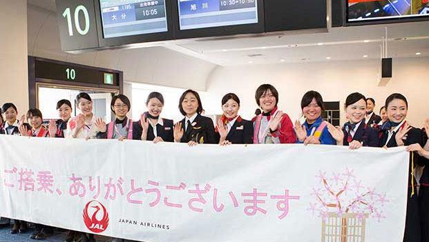 (圖多)坐到算你幸運!從機長到地勤全是女生的「娘子軍」航班