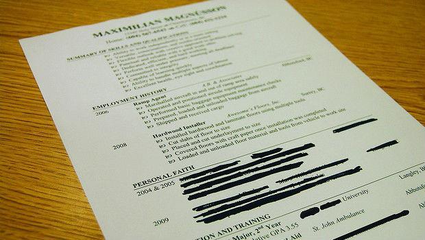 科學驗證》人資看一份履歷只花6秒,所以重點該寫什麼?