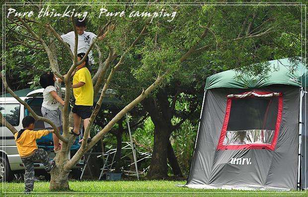 找不到地方上自然課?帶孩子去露營