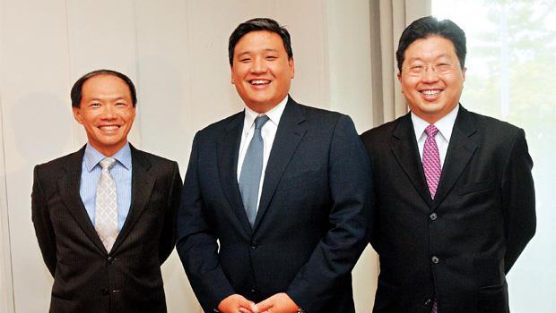 巴克萊「小虎隊」陸行之(左起)、陳衛斌與楊應超,能否搶搭今年科技股多頭,再創事業高峰,備受矚目。