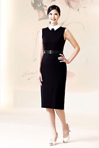 經典黑彰顯優雅感,細節設計展現時髦與專業。