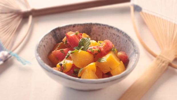 週末輕鬆煮》涼拌芒果