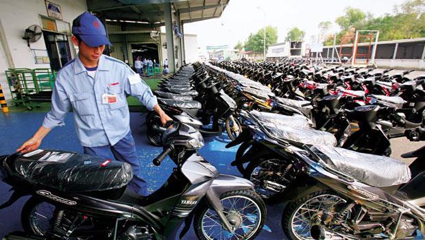 越南的機車超過3,300萬輛,包含山葉在內的前4大外資機車商積極搶這個龐大內需市場,市占率達75%。
