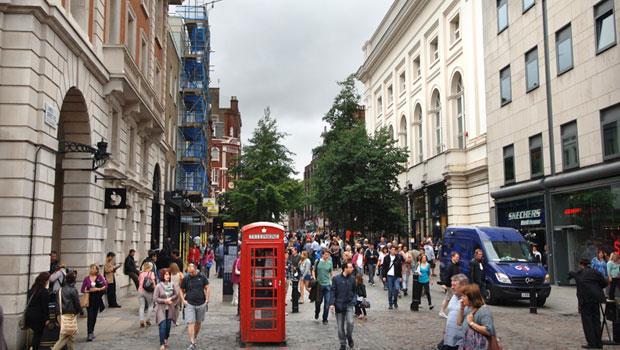 倫敦市中心房地產成為歐亞各地資金過去幾年避險首選。