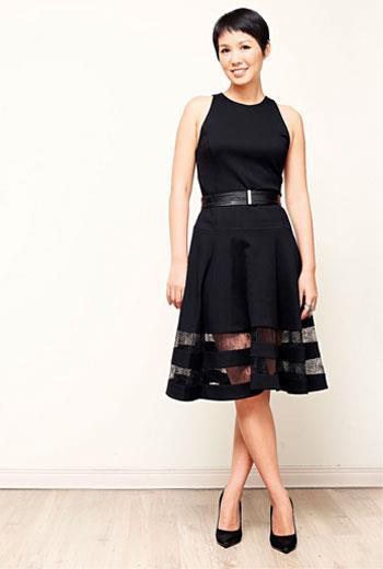 高效率風格穿衣,單件式洋裝創造好比例。
