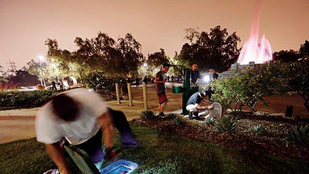 最近最大規模的找錢活動是在美國洛杉磯,總共藏了30多個信封。