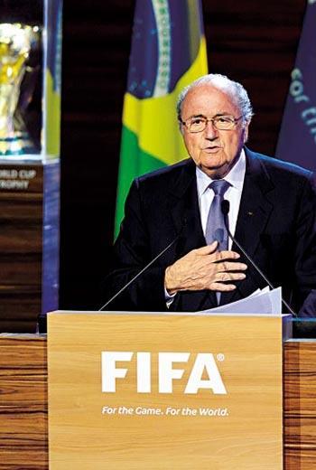 國際足球總會主席(1998年至今) 布拉特