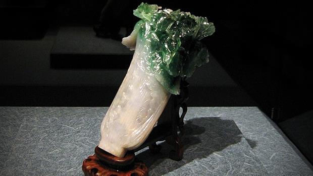 故宮出國展覽!「翠玉白菜」跟「肉形石」的英文怎麼說? - 商業周刊 - 商周.com