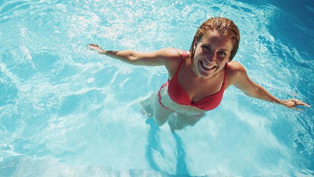 懶人瘦身運動:水中散步!不流汗也能有美腿與翹臀