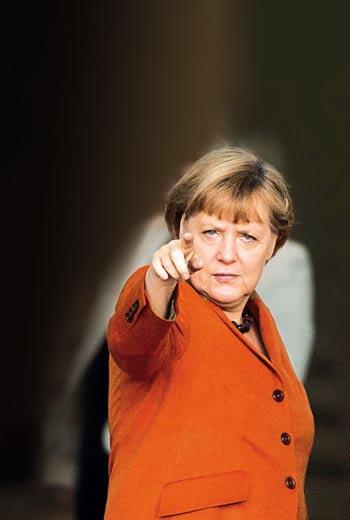 德國總理 梅克爾(Angela Merkel)