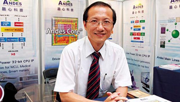晶心科技總經理 林志明