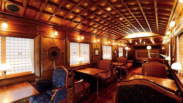 日本「七星in九州」列車車廂