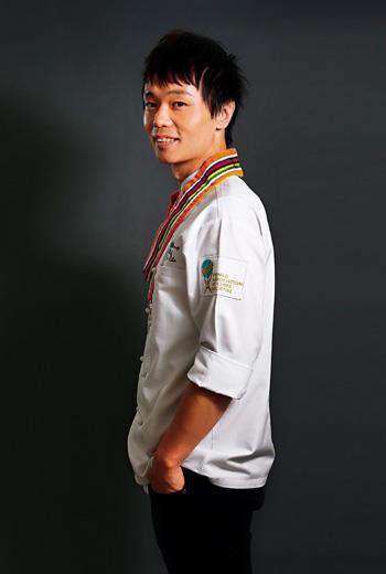 世界廚師聯合會「2014 全球甜點廚師大會」冠軍 陳立喆