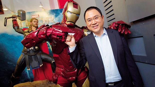 迪士尼副總裁張志忠表示,漫威英雄電影的超高票房,讓迪士尼股價發威。