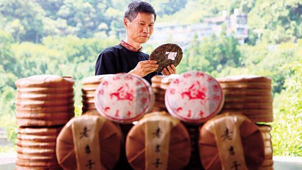 老吉子茶場製茶師 鄭添福