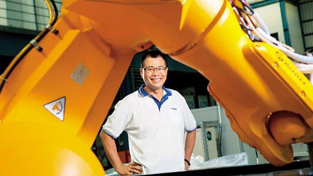 自家產線自動化後,追求共好的林文斗甚至替協力廠負擔機器人費用,再放大中小企業競爭力。