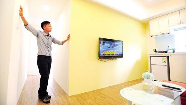 鄭宇秀買中古屋最在意採光,她認為油漆、光線和整潔,是成功出租三要素。
