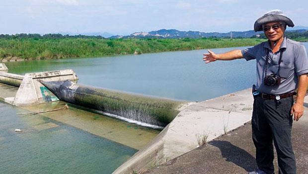 曾文溪玉峰攔河堰是台南重要民生水庫,統一夢世界園區距離此地僅約6-公里,廢水流經,可能污染民眾用水。