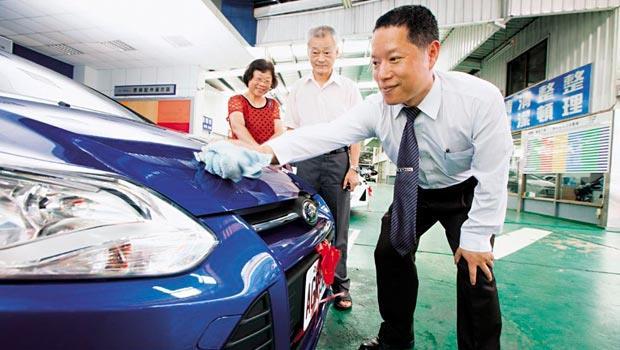 建富汽車(福特經銷商)板橋營業所銷售經理 呂永豐