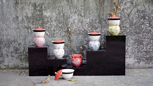 創意十足的擬人化茶器,故宮的文創商品,顛覆你對國寶文物的印象。