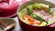 瘦身餐一定不好吃?5步驟煮出濃鬱香甜、但熱量超低的「豆乳味噌海陸鍋」